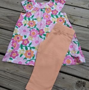 Carter's capri outfit. Size 4T